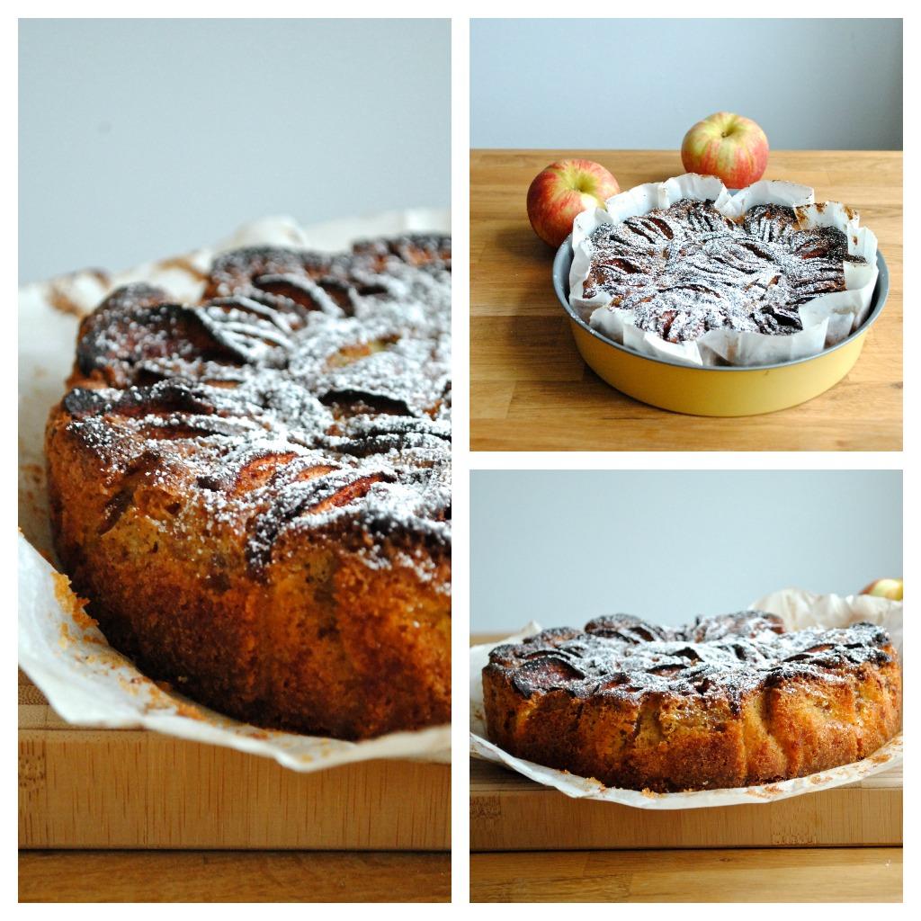 """Æblekage à la Skarum (også kendt som """"Den gode kage"""")"""