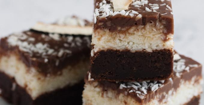 Bounty Brownie og mit nye samarbejde med Elmelund Chocolatier Organic