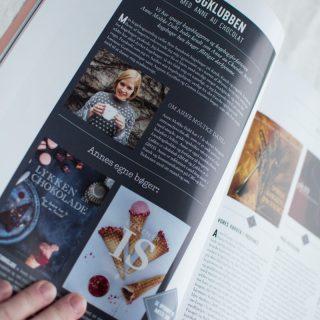 Læs om min yndlingsdessert og kogebogsfavoritter i Magasinet Lækkerier