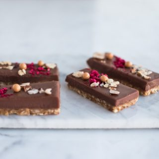 Silkebløde og sprøde chokoladesnitter med Earl Grey