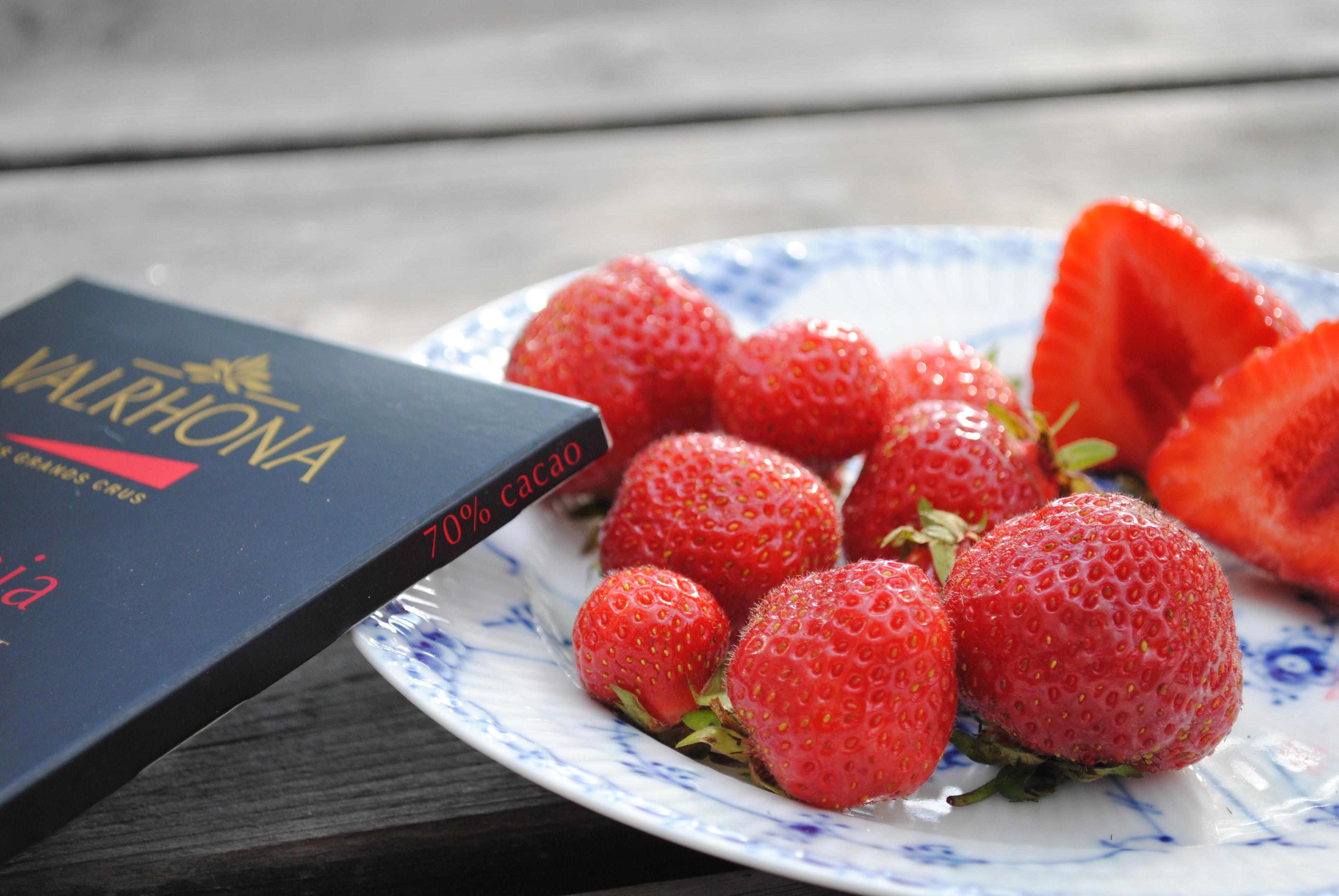 Den skønneste jordbær fra Din Baghave