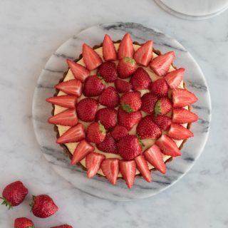 Jordbærtærte à la Anne Au Chocolat