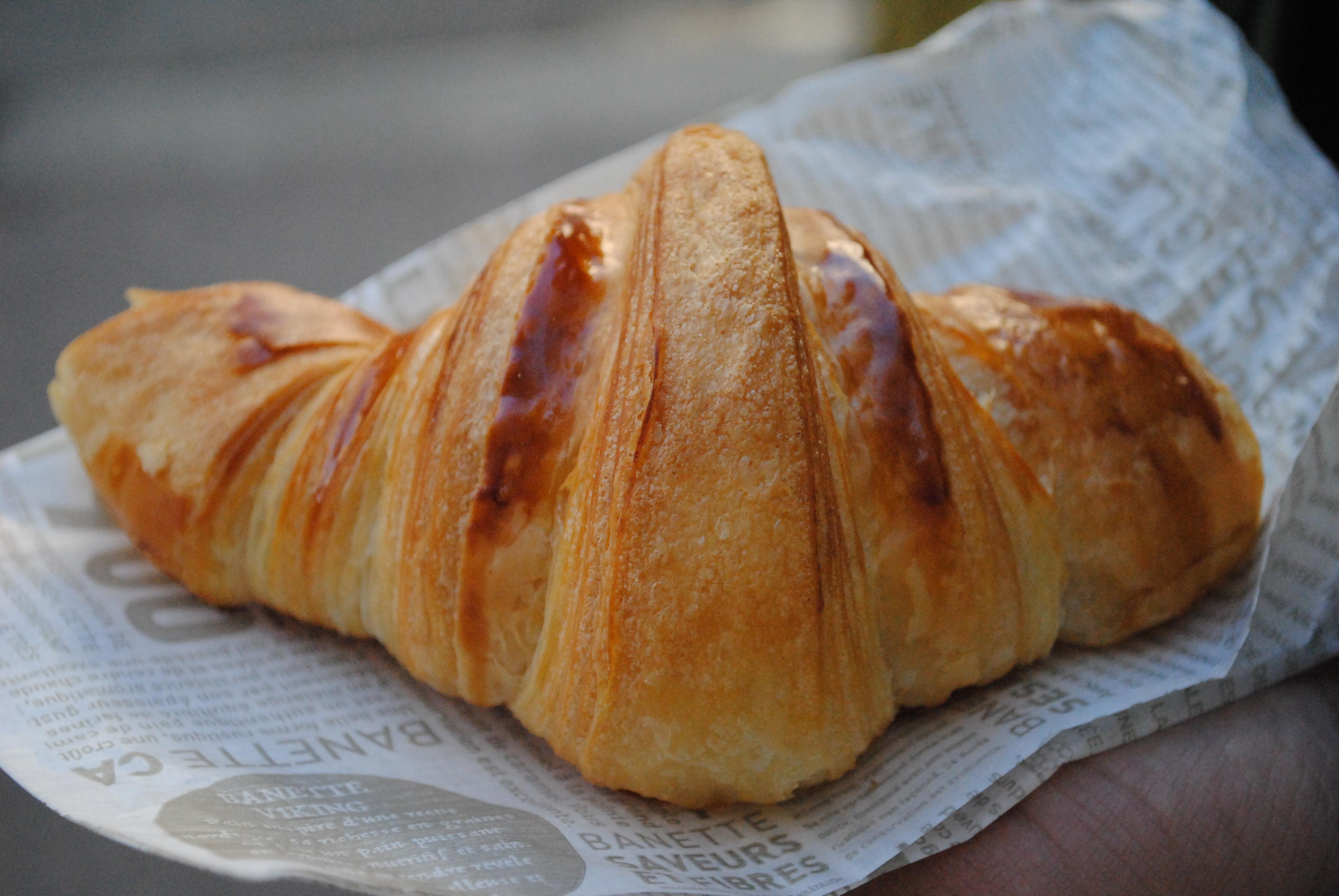 Le croissant, mon amour!