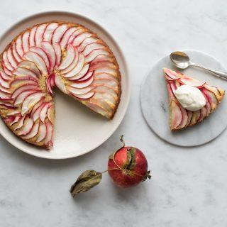 Æblemandelkage