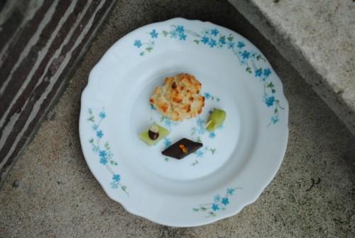 Fransk konfekt og vanille'de kokosmakroner