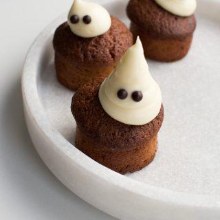 Halloween hokkaido muffins