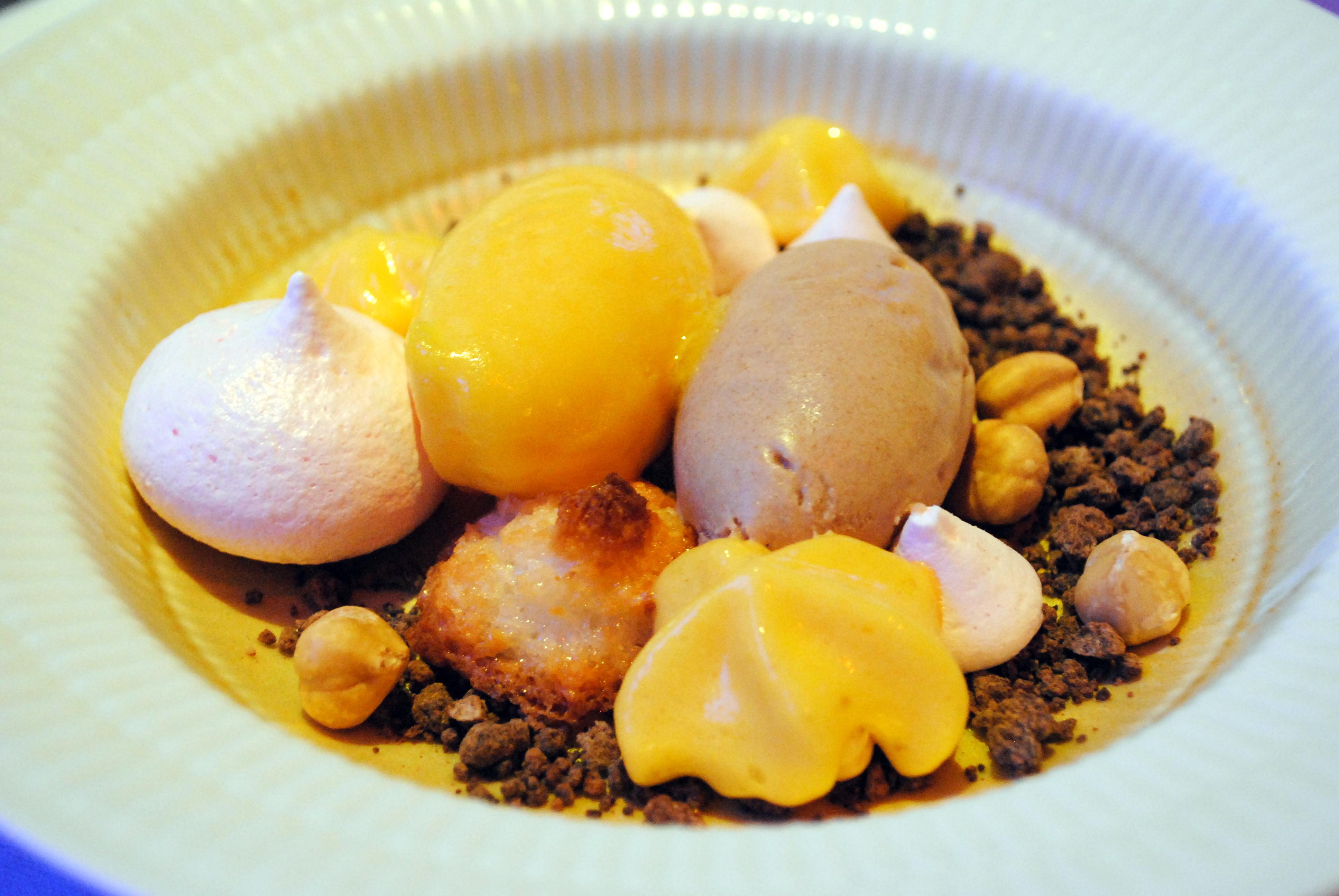 En guddommelig dessert på Mortens Kro