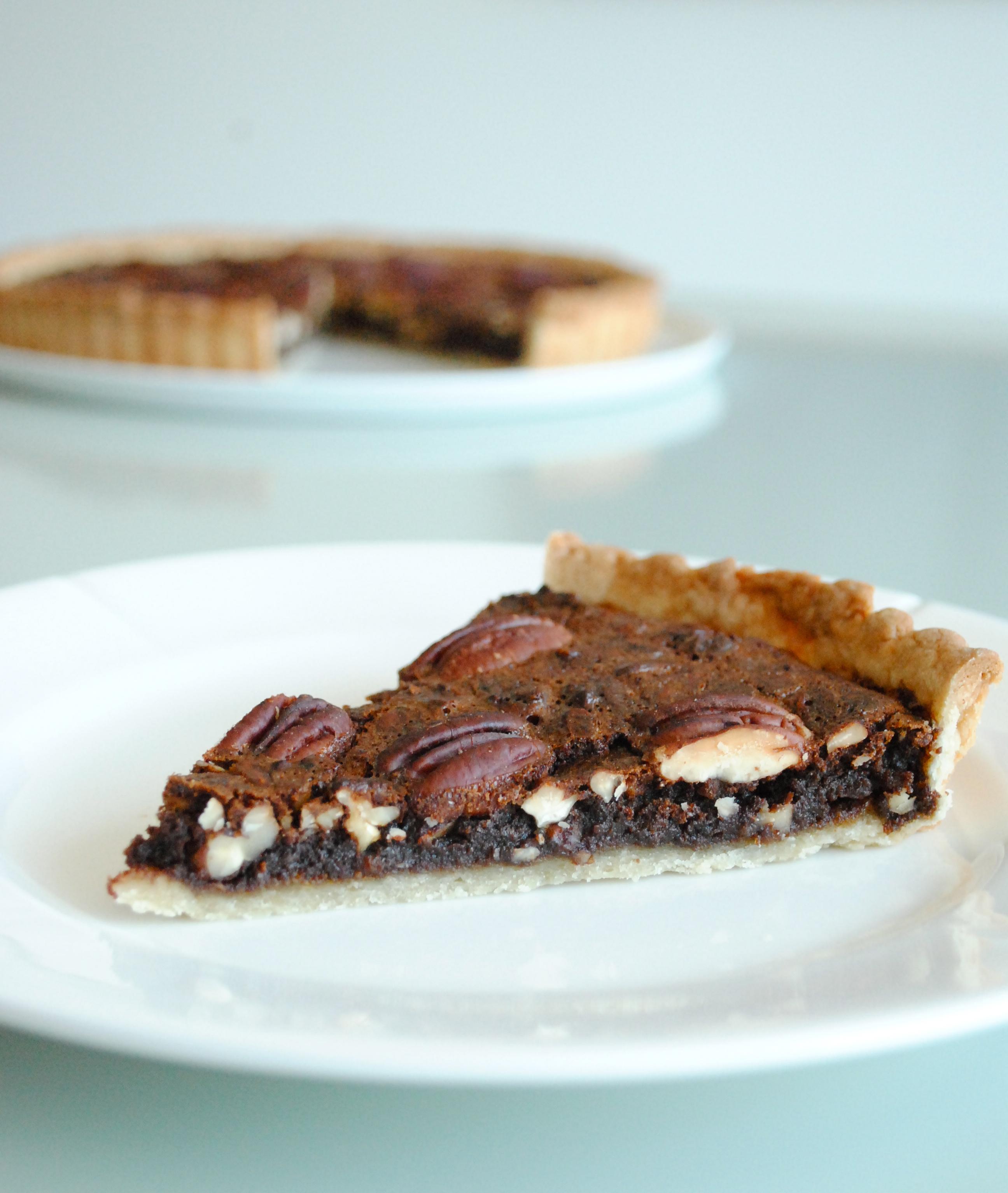 Pecan Pie med chokolade