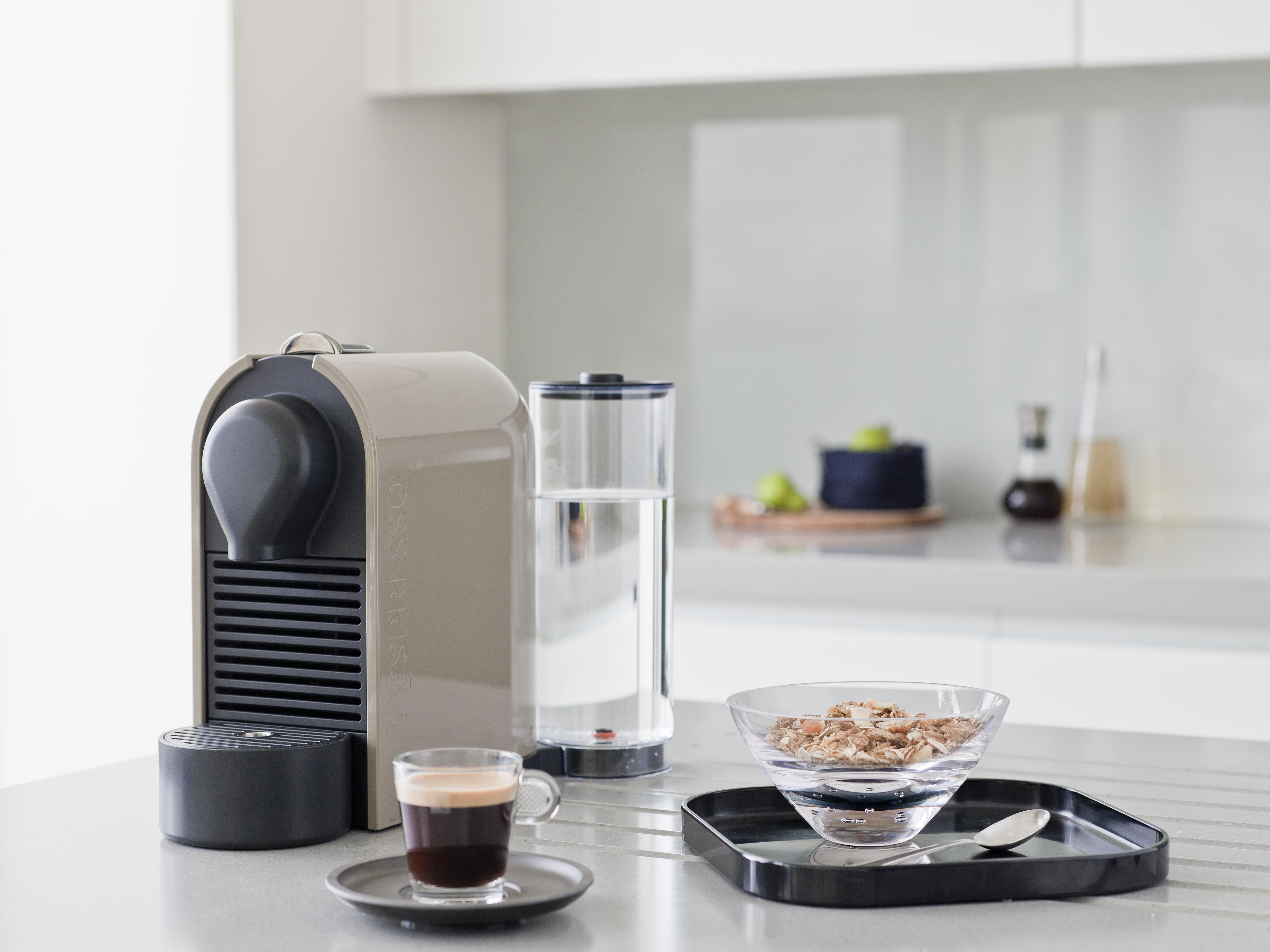 Vind den fine nye U kaffemaskine fra Nespresso