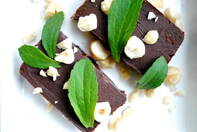 Chokoladetrøffelkage med et twist af Baileys