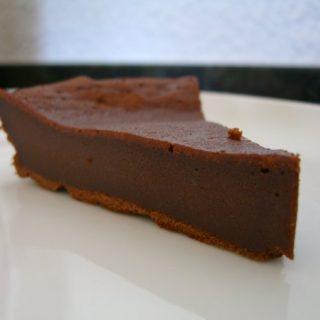 Chokoladekage med kondenseret mælk