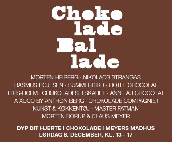 Chokolade Ballade i Meyers Madhus