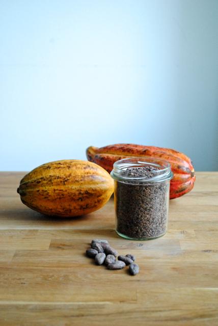 Da chokoladepigen mødte og smagte kakaofrugten for allerførste gang