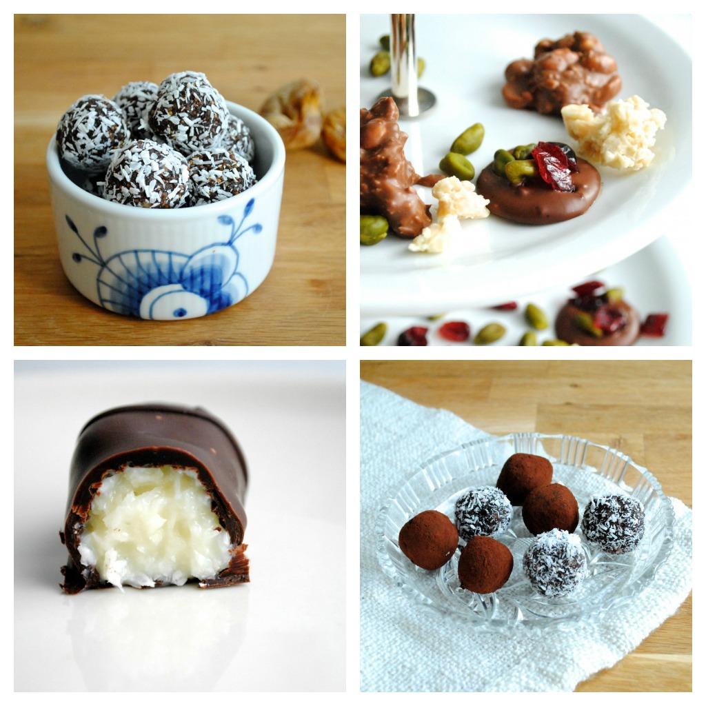 Julens lækre konfekt og andre skønne mundfulde
