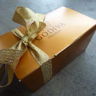 En godiva gave.. julens treat!